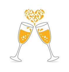 Wedding toast clipart vector vector freeuse library Speech clipart wedding toast - 145 transparent clip arts ... vector freeuse library
