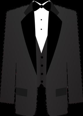 Wedding tuxedo clipart vector black and white library tuxedo2 - Minus | Cricut-WEDDINGS THINGS | Wedding scrapbook ... vector black and white library