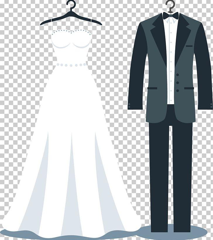 Wedding tuxedo clipart image free stock Tuxedo Wedding Dress Suit Bride PNG, Clipart, Black Suit ... image free stock