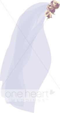 Wedding veil clipart vector Clipart Wedding Veil   Bride Clipart vector