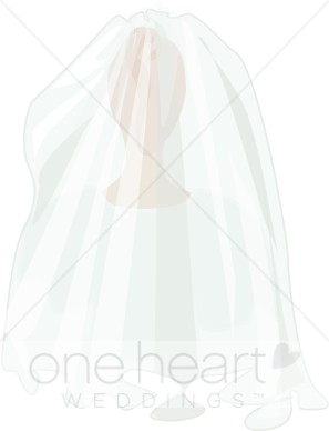 Wedding veil clipart graphic royalty free download Clip Art Wedding Veil   Bridal Accessories Clipart graphic royalty free download