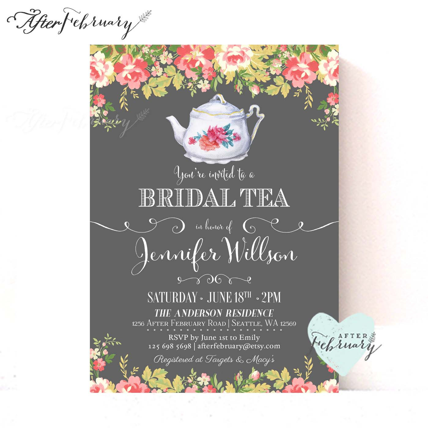 Wedding vintage printables tea clipart clipart transparent library Bridal tea party invitation clipart - ClipartFest clipart transparent library