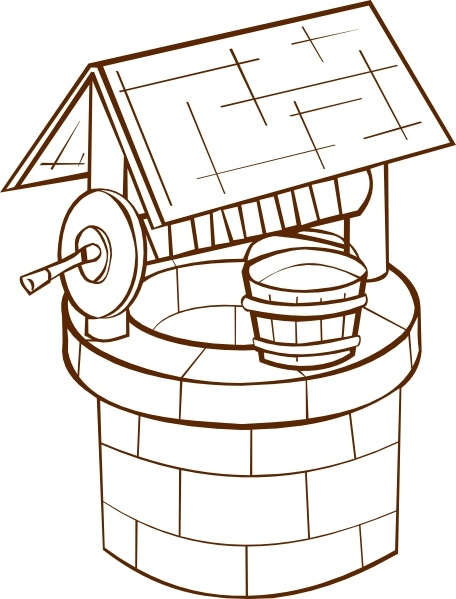 Wedding wishing well clipart picture download Wishing Well clip art Free vector in Open office drawing svg ... picture download