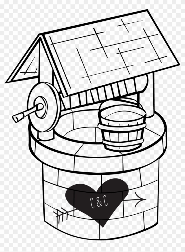 Wedding wishing well clipart svg library Clipart Of Well | Clip Art svg library
