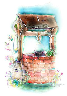 Wedding wishing well clipart clipart transparent 34 Best Wishing wells images in 2017 | Wishing well, Wishing ... clipart transparent