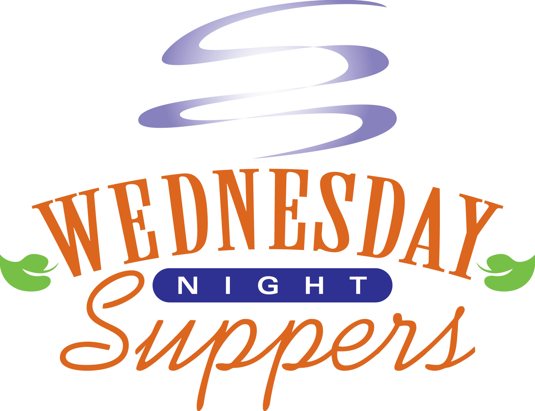 Wednesday night supper clipart