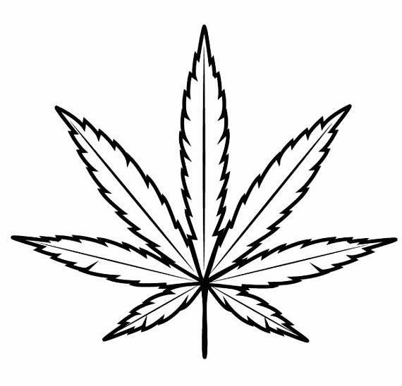 Weed clipart black and white jpg library Pot Leaf Clip Art | Free download best Pot Leaf Clip Art on ... jpg library
