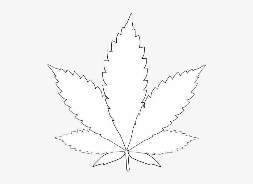 Weed clipart black and white free stock Download Leaf Weed Tattoos - Weed Clipart Black And White ... free stock
