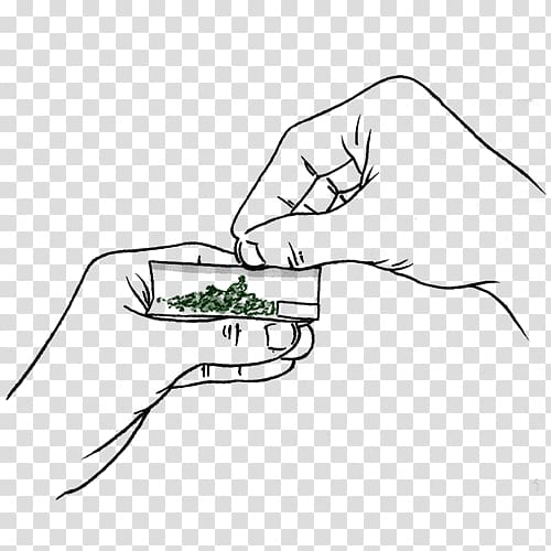 Weed hand clipart clip art library Person\'s hand , Drawing Joint Paper Line art, Joint weed ... clip art library