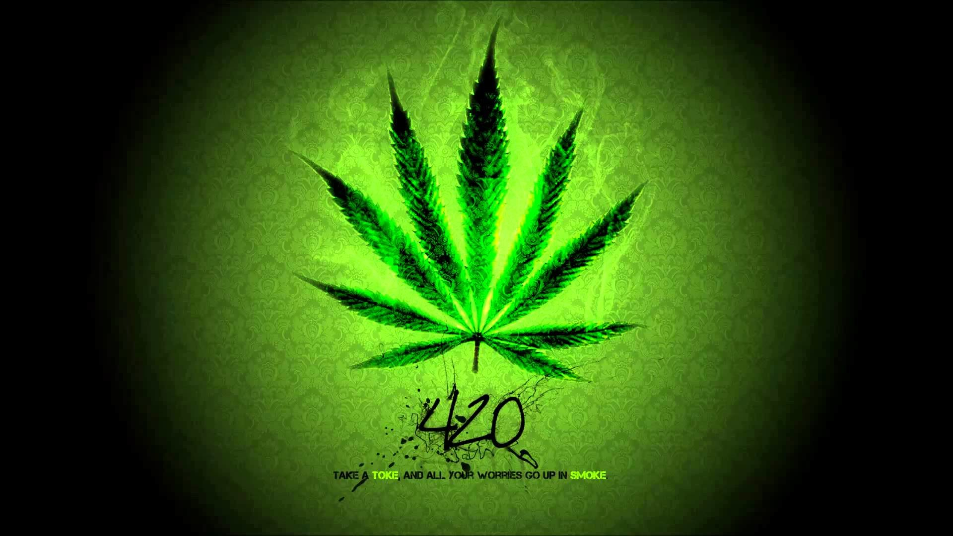 Weed leaf clipart 1600x900 svg black and white stock Trippy Pot Leaf Wallpapers (55+ images) svg black and white stock