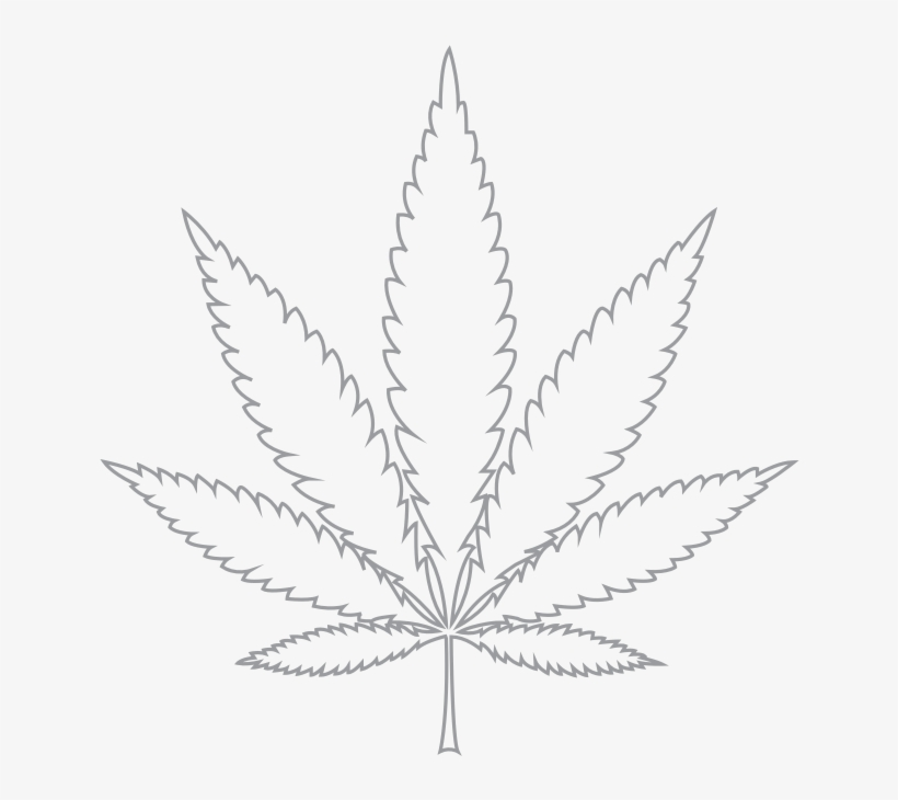 Weed leaf clipart black and white clipart black and white Weed Leaf Png Cannabis - Cannabis Leaf Black And White ... clipart black and white