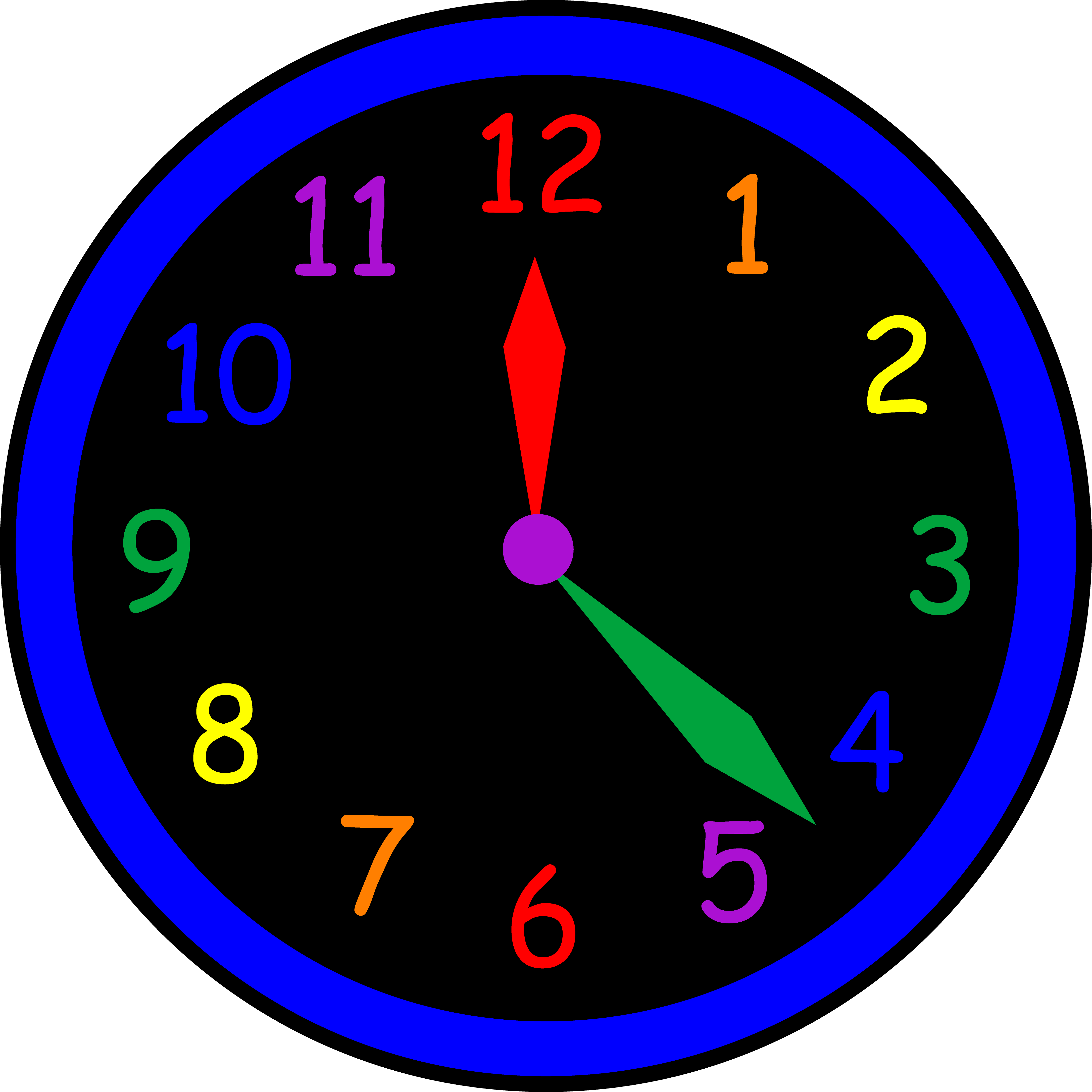 Weekdays clock clipart png library library Free Clock Images Group with 66+ items png library library