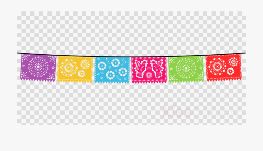 Weekend banner clipart picture black and white stock Mexican Clipart Banner - Transparent Mexican Banner Clipart ... picture black and white stock