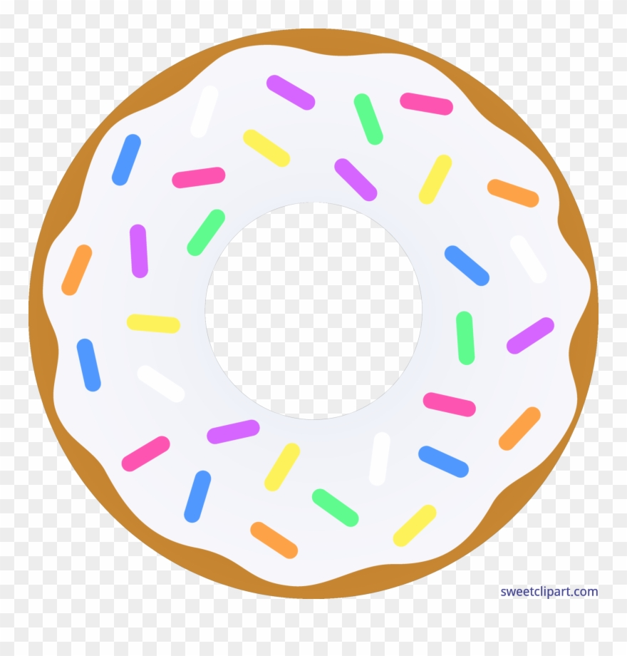 Weekend clipart transparent banner free download Donut Clipart Png - Single Donut Clipart Transparent Png ... banner free download