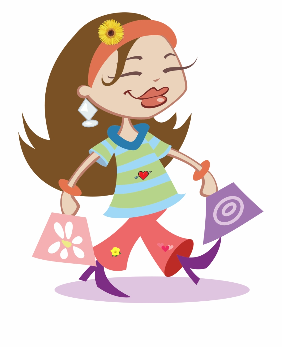Weekend clipart transparent picture royalty free download Shopping Transparent Girl Png Shopping Clipart Transparent ... picture royalty free download