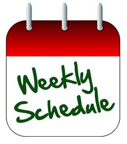 Weekly schedule clipart jpg black and white library Weekly Schedule – Tower Community Fellowship jpg black and white library