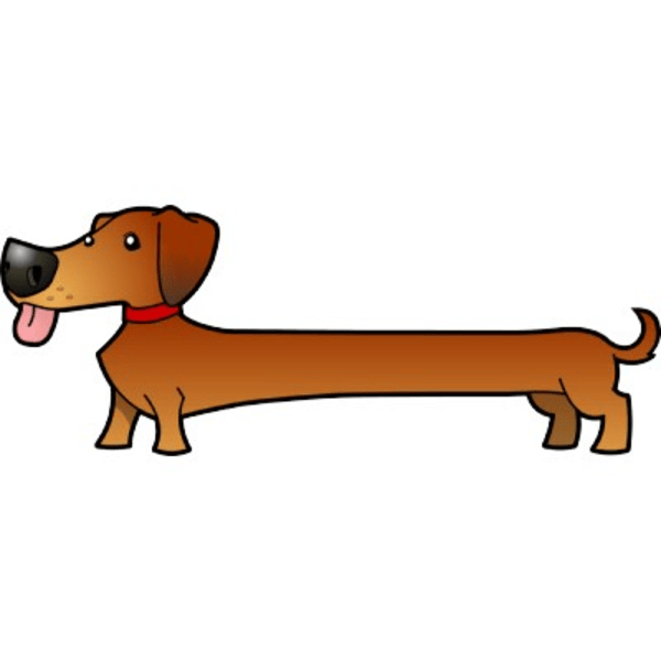 Weenie dog with spots clipart png royalty free library Weenie dog clipart 5 » Clipart Portal png royalty free library