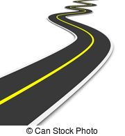 Weg clipart png black and white library Road Illustrations and Stock Art. 195,871 Road illustration ... png black and white library