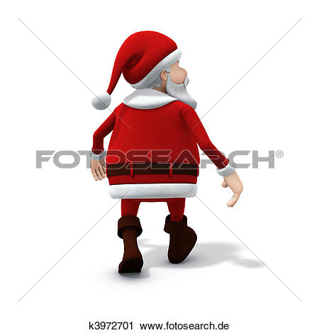 Weg gehen clipart picture royalty free download Clipart - weihnachtsmänner, weg gehen k3972701 - Suche Clip Art ... picture royalty free download