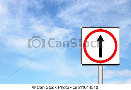 Weg gehen clipart jpg freeuse stock Clipart von blaues, Voraus, himmelsgewölbe, zeichen, weg, gehen ... jpg freeuse stock