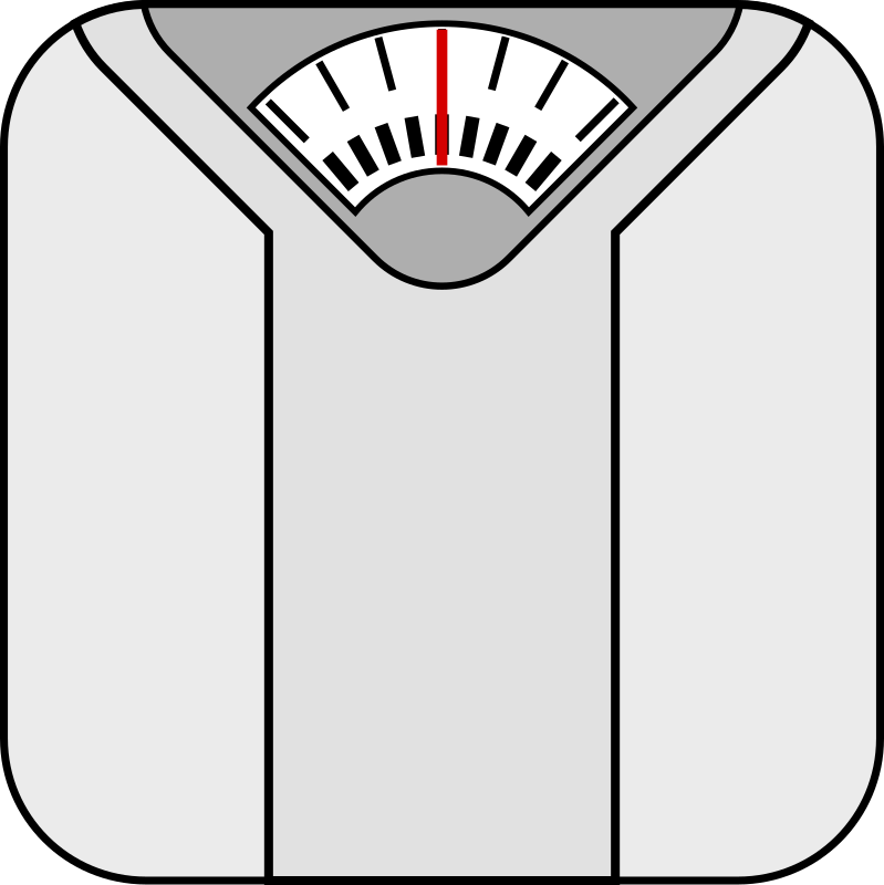 Weigh yourself clipart banner free My Bathroom Scale – Almost Iowa banner free