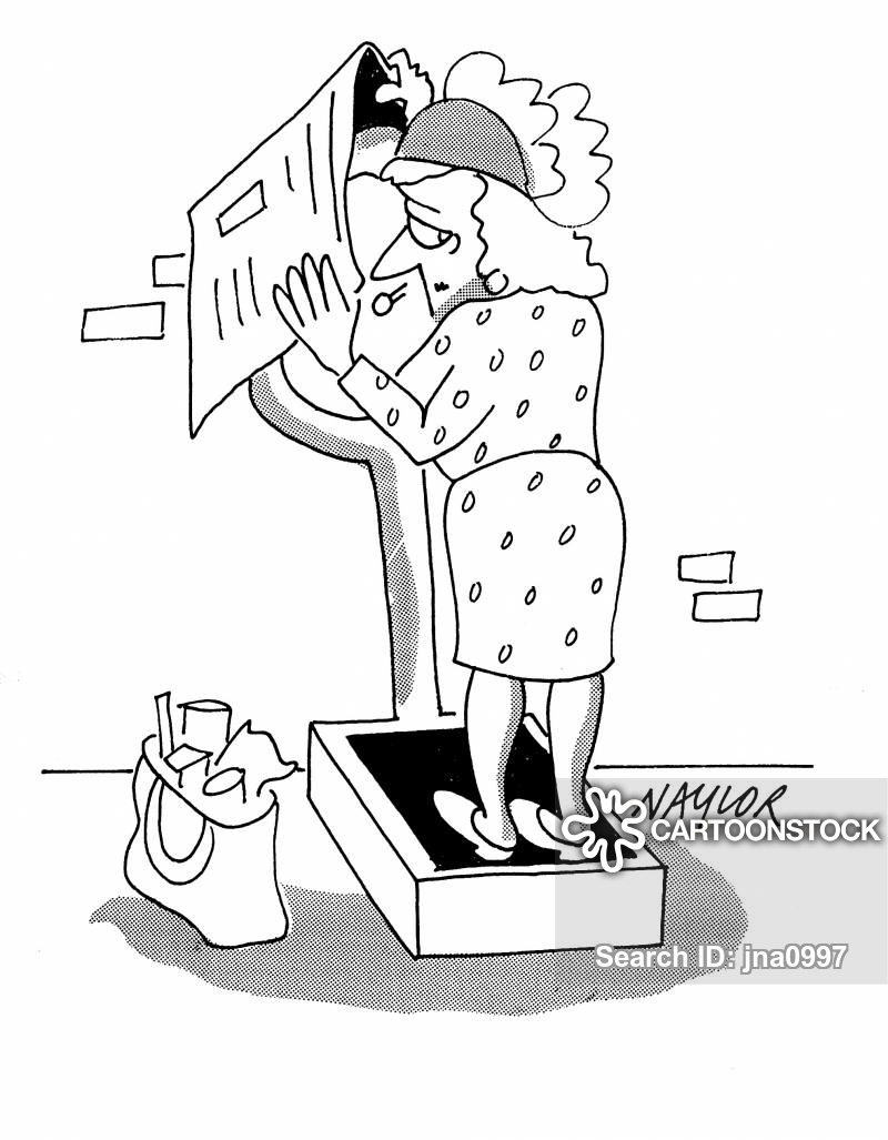 Weigh yourself clipart picture free library Weigh Yourself Cartoons and Comics - funny pictures from ... picture free library