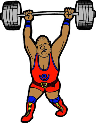 Weight lifter clipart image stock Free Weightlifting Cliparts, Download Free Clip Art, Free ... image stock