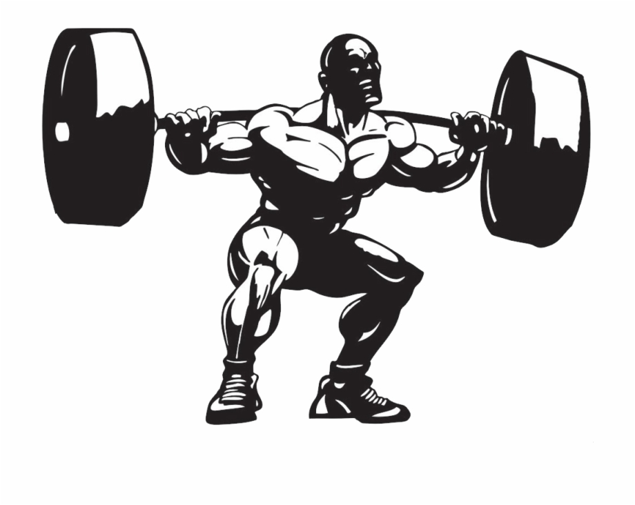 Weight lifter clipart graphic library library Powerlifting Png - Png Weight Lifting Clipart, Transparent ... graphic library library