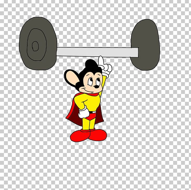 Weight lifting animated clipart png library stock Mighty Mouse Olympic Weightlifting Weight Training Dumbbell ... png library stock