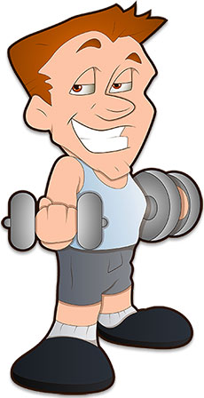 Weight lifting animated clipart image library download Free Weightlifting Clipart - Graphics image library download