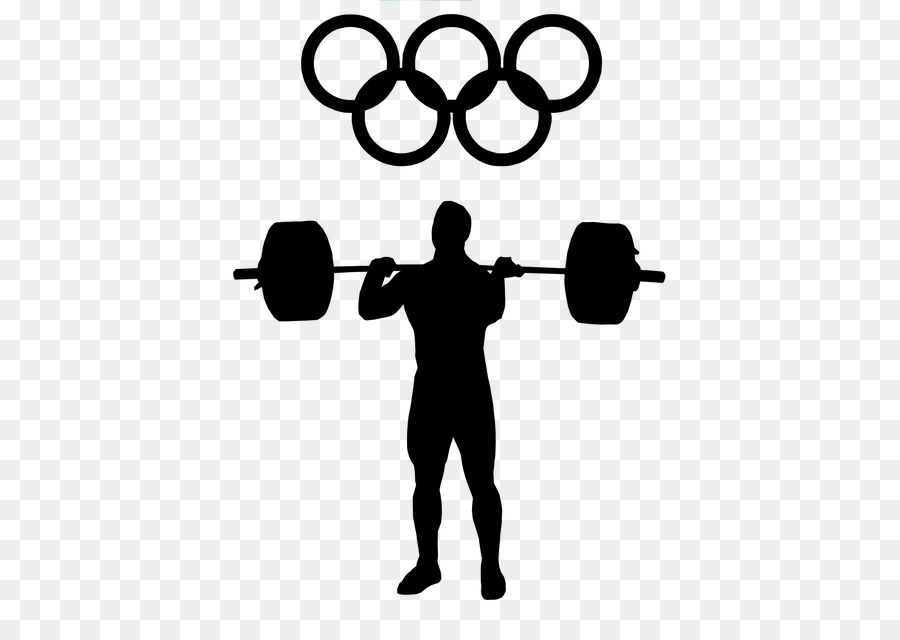 Weight lifting clipart no copyright clip art freeuse Fitness Cartoon clipart - Exercise, Silhouette, Line ... clip art freeuse