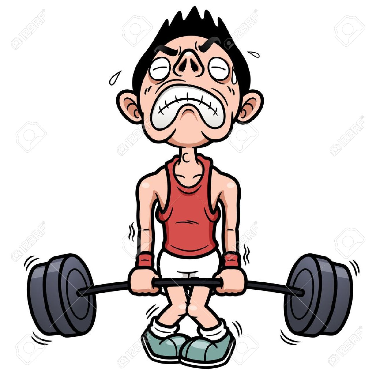 Weight lifting clipart struggle clip transparent library Weak Clipart Group with 76+ items clip transparent library