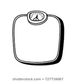 Weightscale clipart black and white freeuse Weight scale clipart black and white 6 » Clipart Portal freeuse