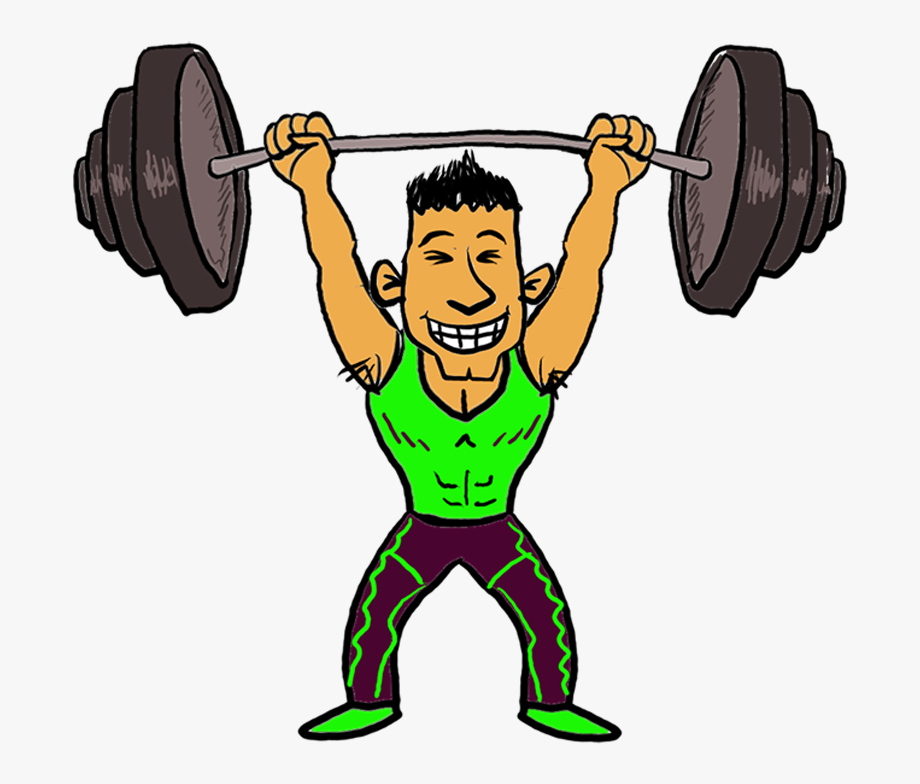 Weightlifting with one arm clipart picture Weight Lifting Cliparts - Weight Training #183025 - Free ... picture