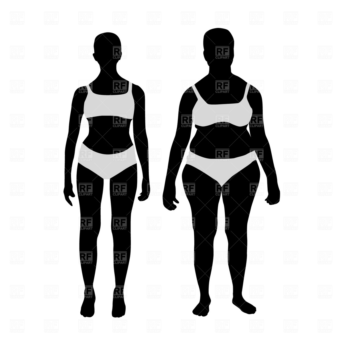 Weightloss results bikini clipart banner royalty free library Lose Weight Cliparts | Free download best Lose Weight ... banner royalty free library