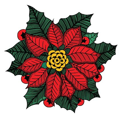 Weihnachtsstern clipart vector library Weihnachten Blume Weihnachtsstern premium clipart ... vector library