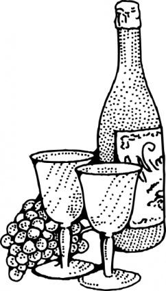 Wein und essen clipart jpg black and white stock Wein und Pokalen ClipArt cliparts, clipart - ClipartLogo.com jpg black and white stock