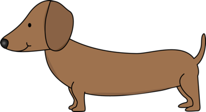 Weiner dog clipart smiley face jpg black and white Free Dachshund Clipart | Free download best Free Dachshund ... jpg black and white