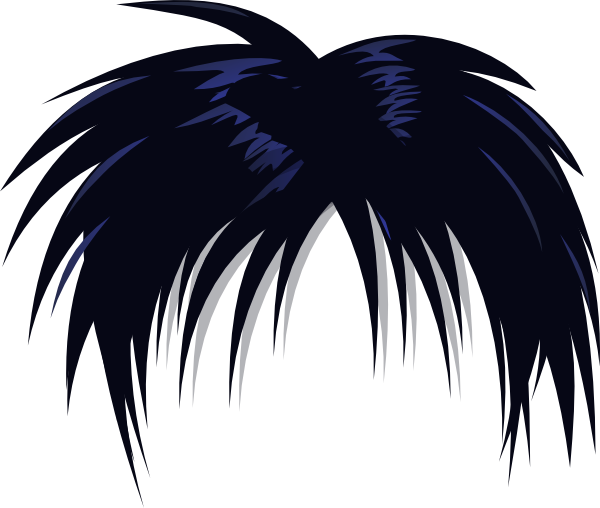 Weird hair clipart clipart freeuse stock Anime Hair PNG Transparent Anime Hair.PNG Images. | PlusPNG clipart freeuse stock