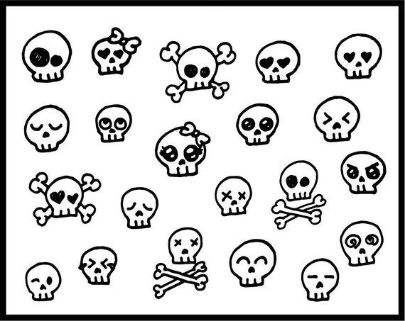 Weird skulls clipart pink clip black and white stock Skull clipart, cute, skull candy, skulls, skullcandy ... clip black and white stock