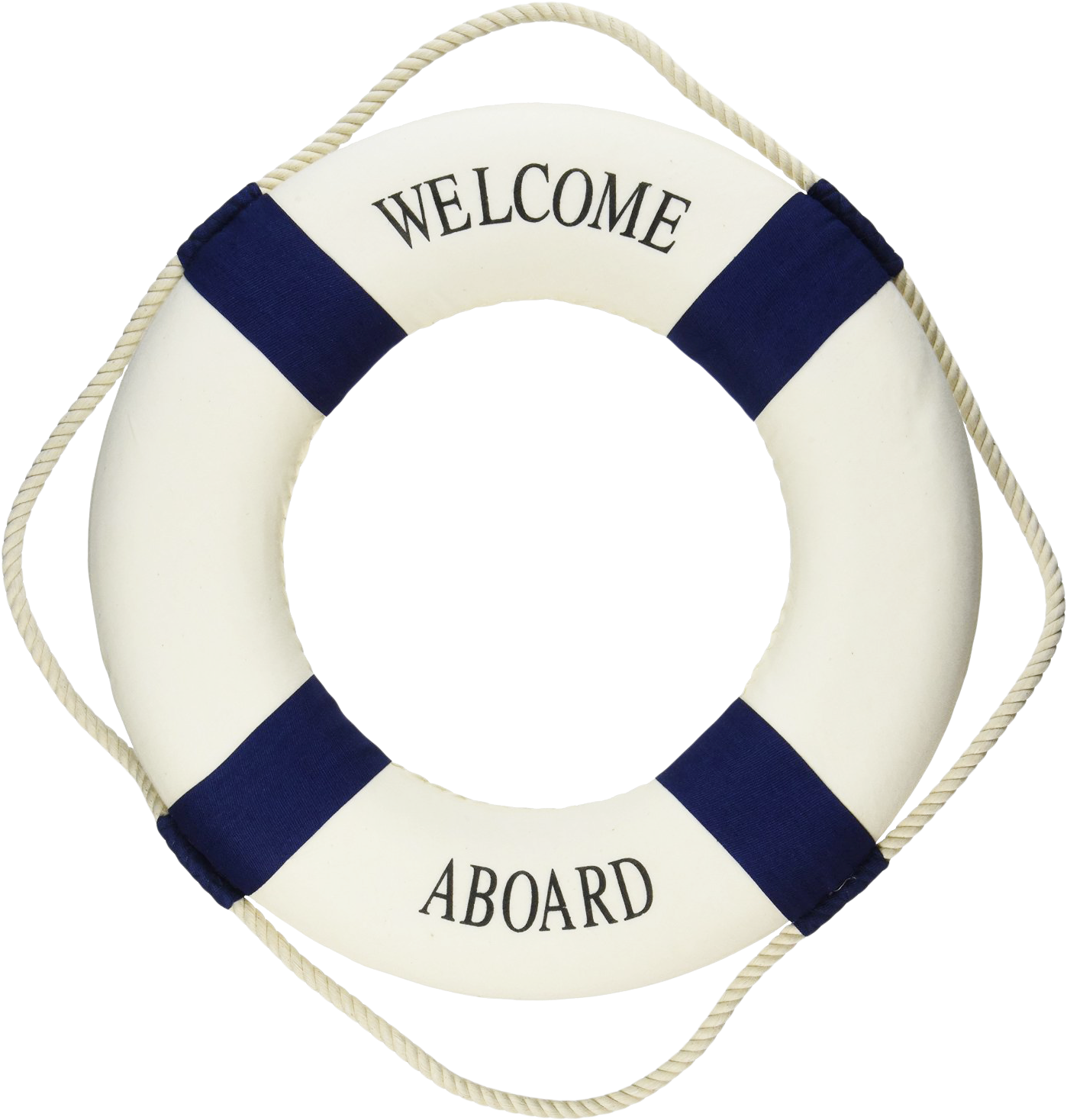 Welcome aboard lifering clipart clip black and white download Lifebuoy Png - Welcome Aboard Life Preserver Ring | Full ... clip black and white download
