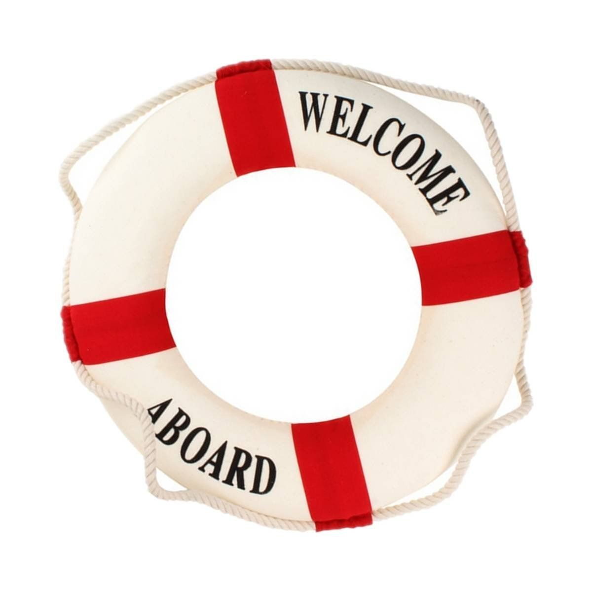 Welcome aboard lifering clipart clip art royalty free download Welcome Aboard Foam Nautical Life Lifebuoy Ring Boat Wall ... clip art royalty free download