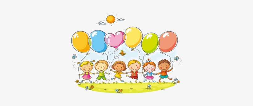 Welcome anytime clipart jpg transparent library Royalty Free Download Children With Balloons Clipart ... jpg transparent library