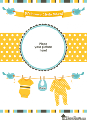 Welcome baby clipart image black and white stock Free Welcome Baby Clipart and Vector Graphics - Clipart.me image black and white stock