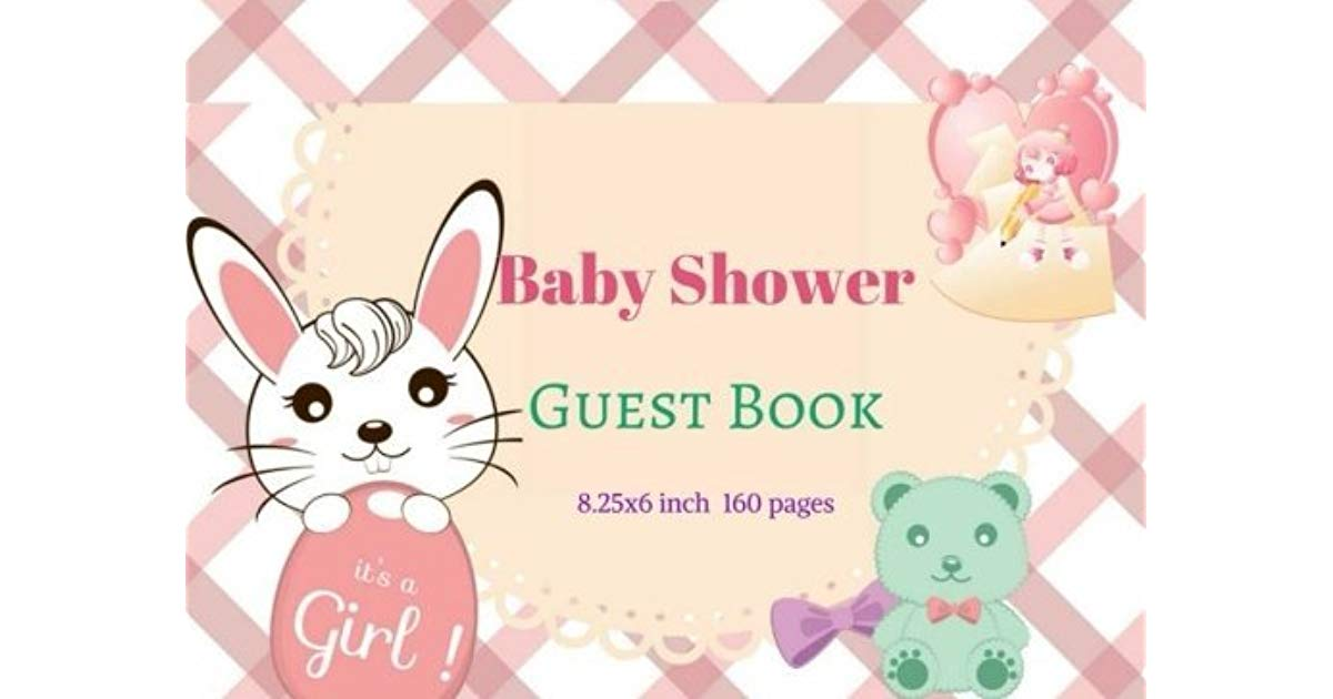Welcome baby message clipart clipart royalty free library Baby Shower Guest Book : Modern Welcome Baby Message Book ... clipart royalty free library