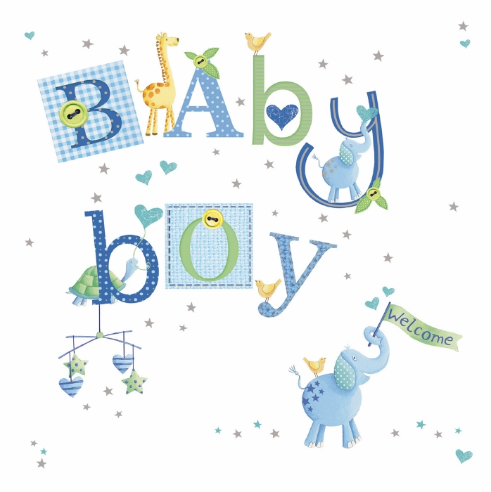 Welcome baby message clipart jpg free Welcome Baby Boy jpg free