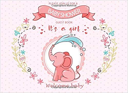 Welcome baby message clipart library Baby Shower Guest Book: Message Book Sign In Keepsake Memory ... library