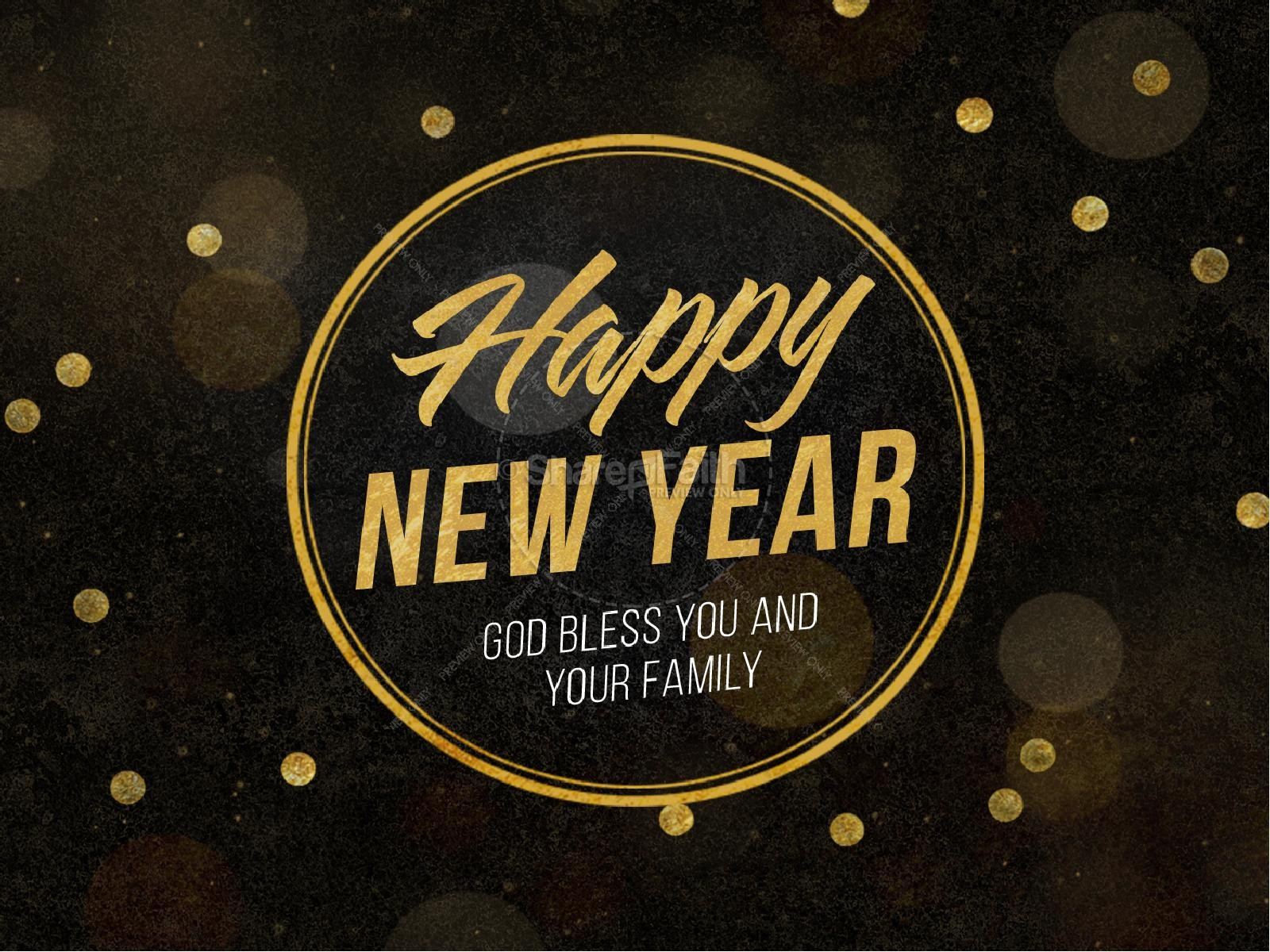 Welcome back to activities at church clipart blessings jpg royalty free Happy New Year Blessings Church PowerPoint   Church New Year ... jpg royalty free