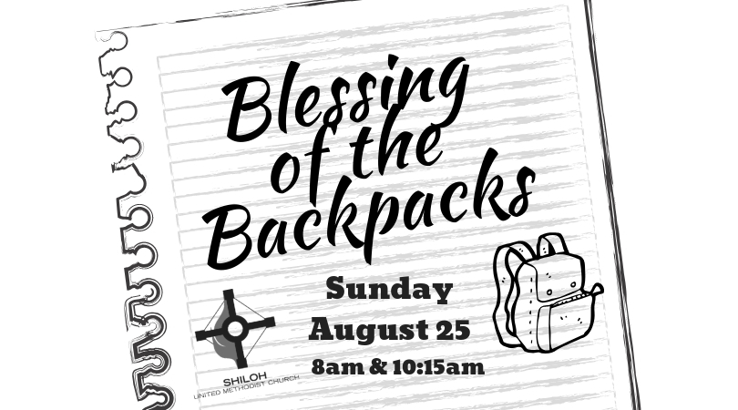 Welcome back to activities at church clipart blessings image Church Updates - Shiloh United Methodist Church image