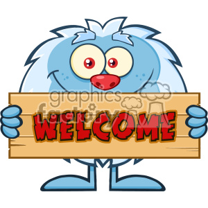 Welcome clipart vector